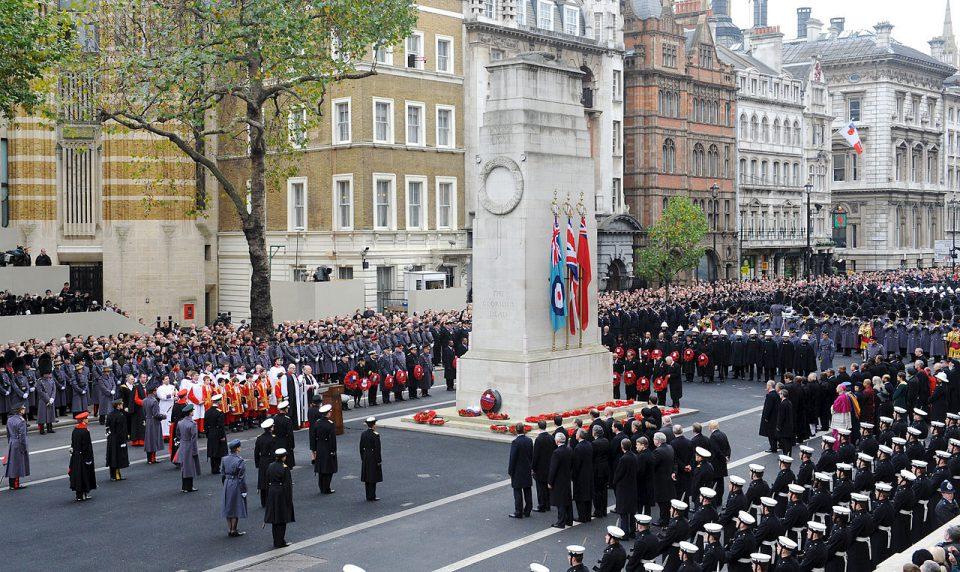 Remembrance Sunday Parade at the Cenotaph Sunday 11th November 2018